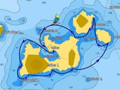 Arcipelago-di-Milos MENU/ITINERARI