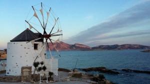Un piccolo porto sulla costa greca