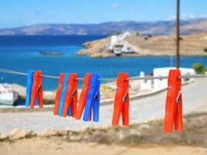 Mollette sul litorale greco