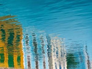 Riflesso delle acque della Grecia