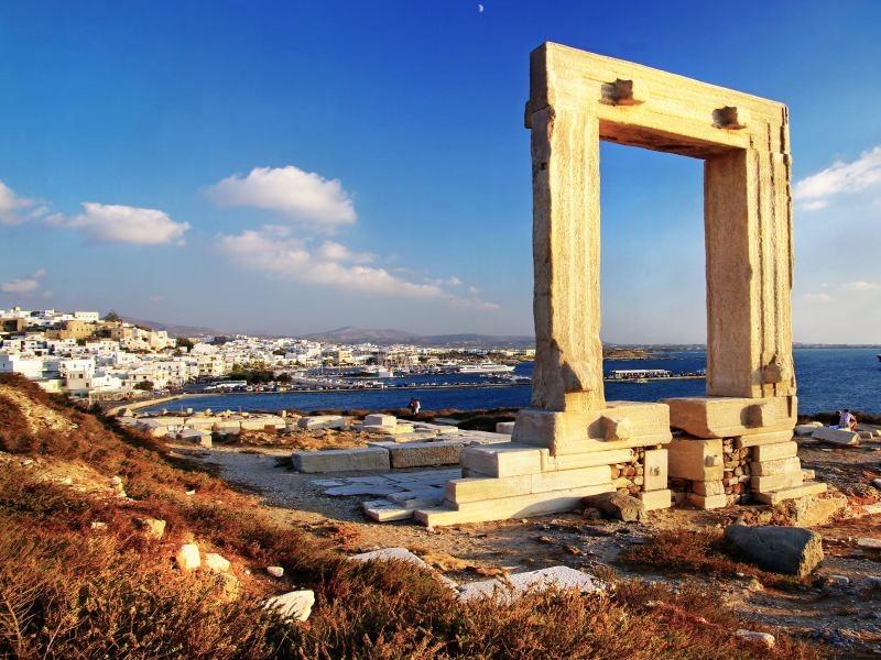 la porta 1 - Pagina Itinerari/naxos-naxos