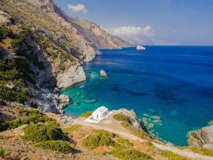 Anna Amorgos, splendida spiaggia delle coste greche