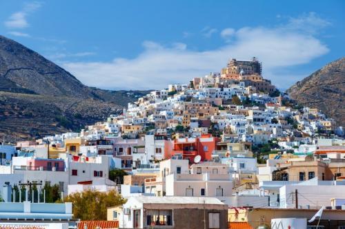 a vela in grecia   siros - crociere barca a vela