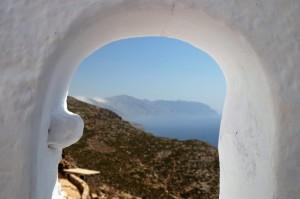 Monastero sulla costa della Grecia