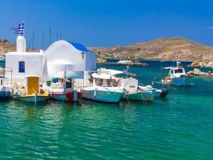 Il villaggio di Naussa, in Grecia