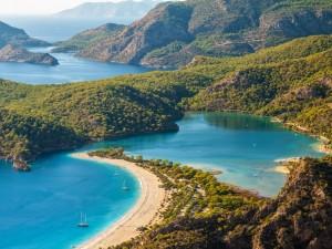 Oludeniz, piccola zona turistica sulla costa della Turchia