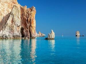 Polyegos, piccola isola della Grecia