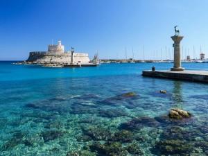 L'isola greca di Rodi