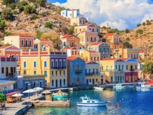 Symi, piccola isola greca del Dodecaneso