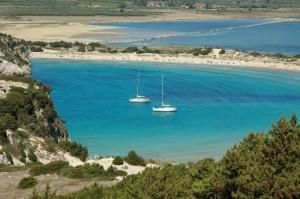 Voidokilia, una piccola spiaggia della Grecia