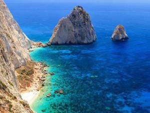 Il mare greco durante la crociera in barca a vela